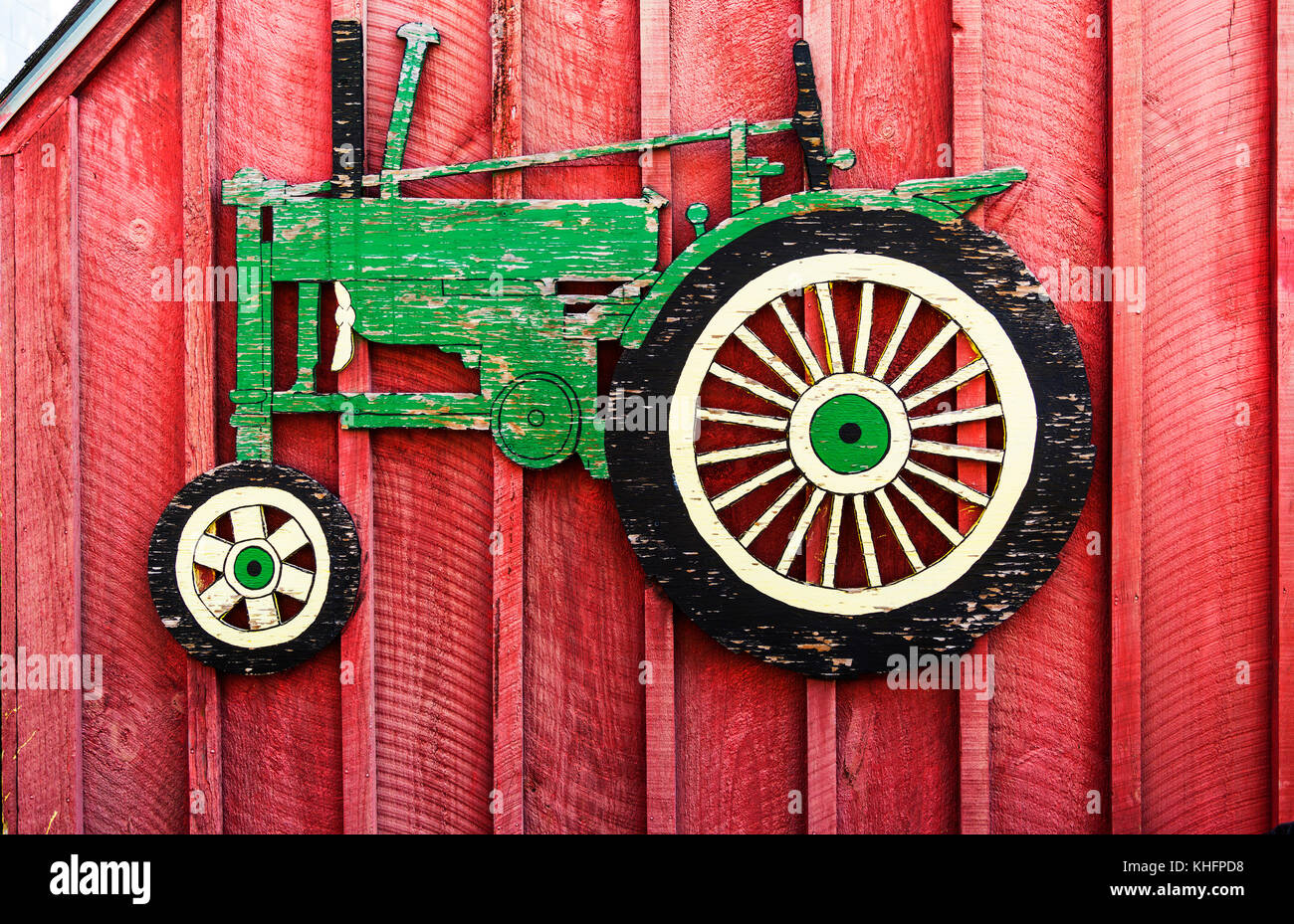 Tractor Art Stock Photos & Tractor Art Stock Images - Alamy