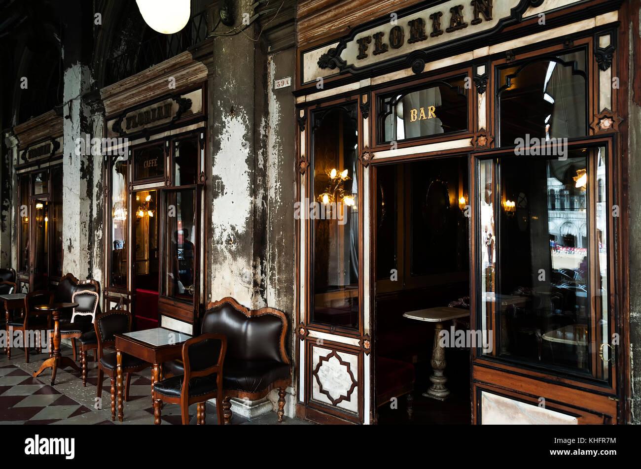 Cafe Florian Venice Italy Menu