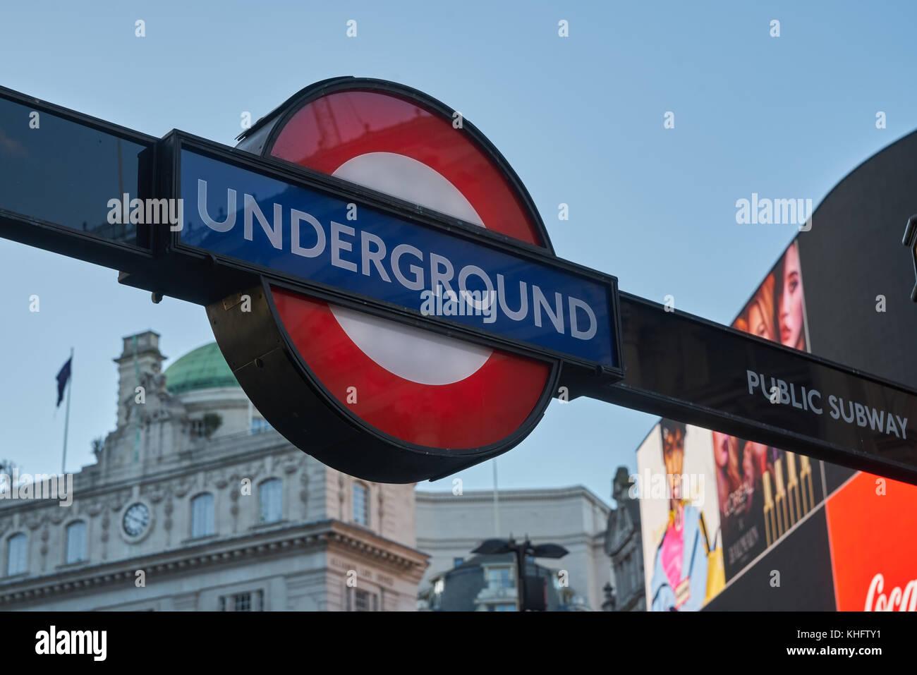 picadily circus london - Stock Image