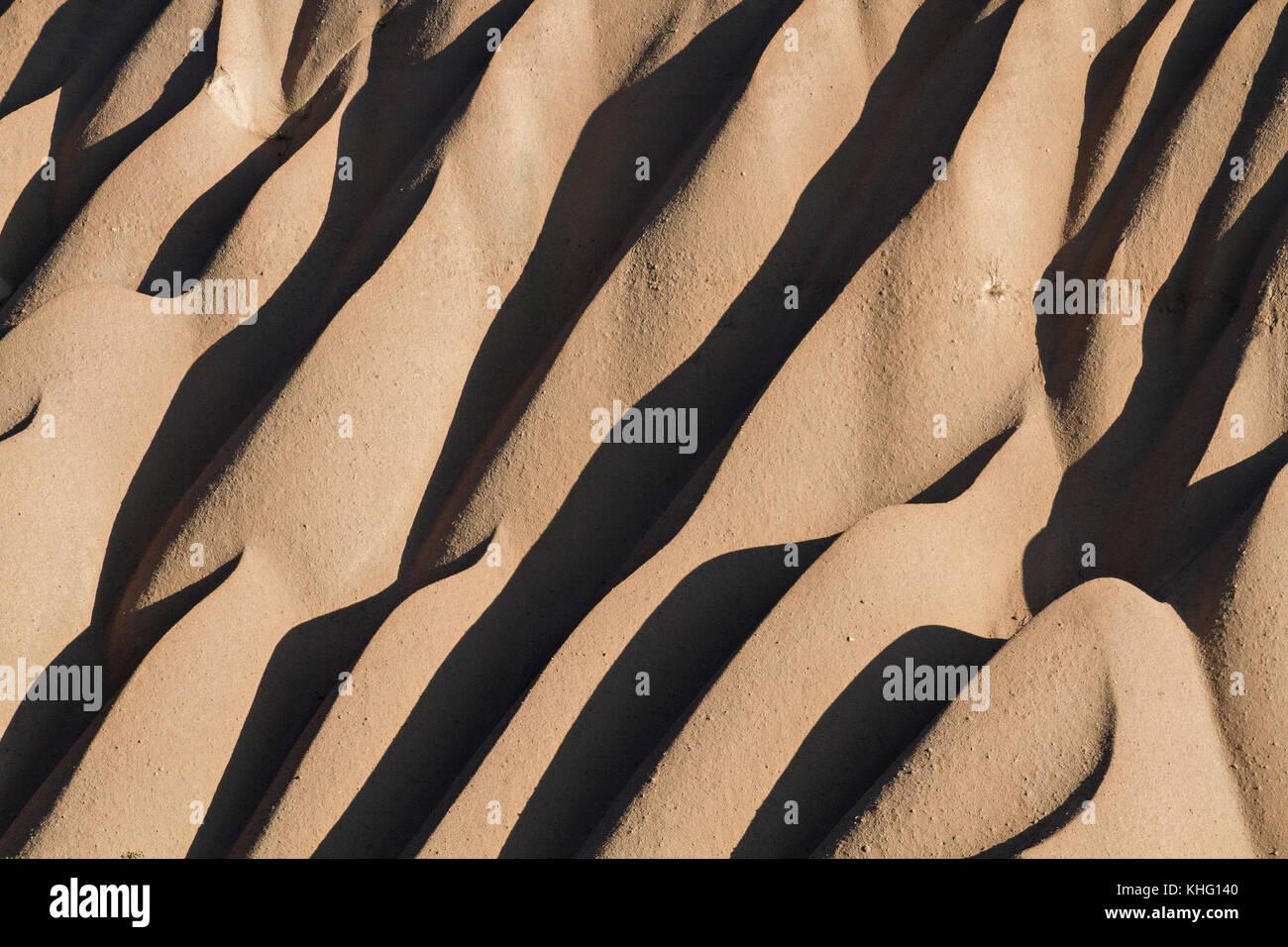 Extreme terrain of Cappadocia in Turkey. - Stock Image