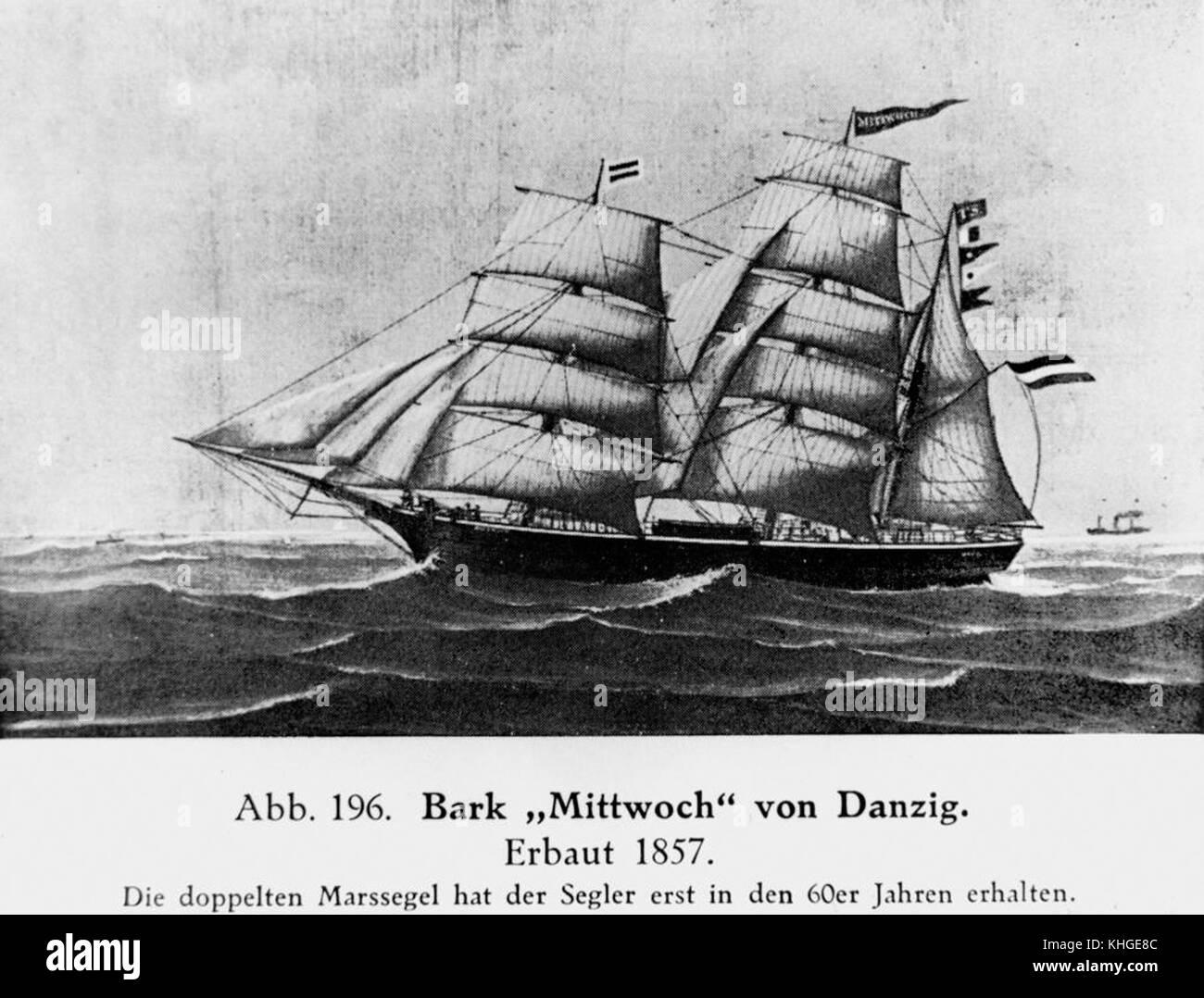 1 164003 Mittwoch (ship) Stock Photo