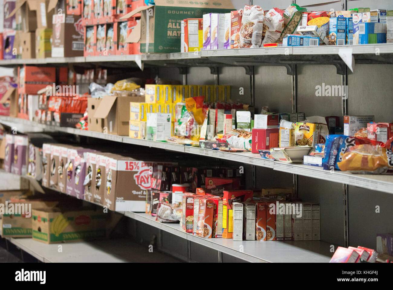 Community FoodBank of New Jersey operations include keeping