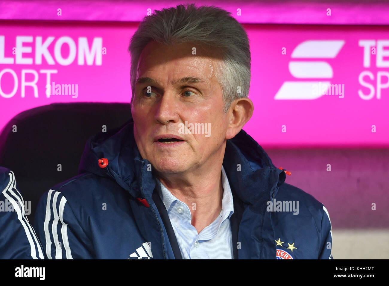 Jupp HEYNCKES (Trainer FC Bayern Munich), Einzelbild, angeschnittenes Einzelmotiv, Portraet, Portrait, Portrat. - Stock Image