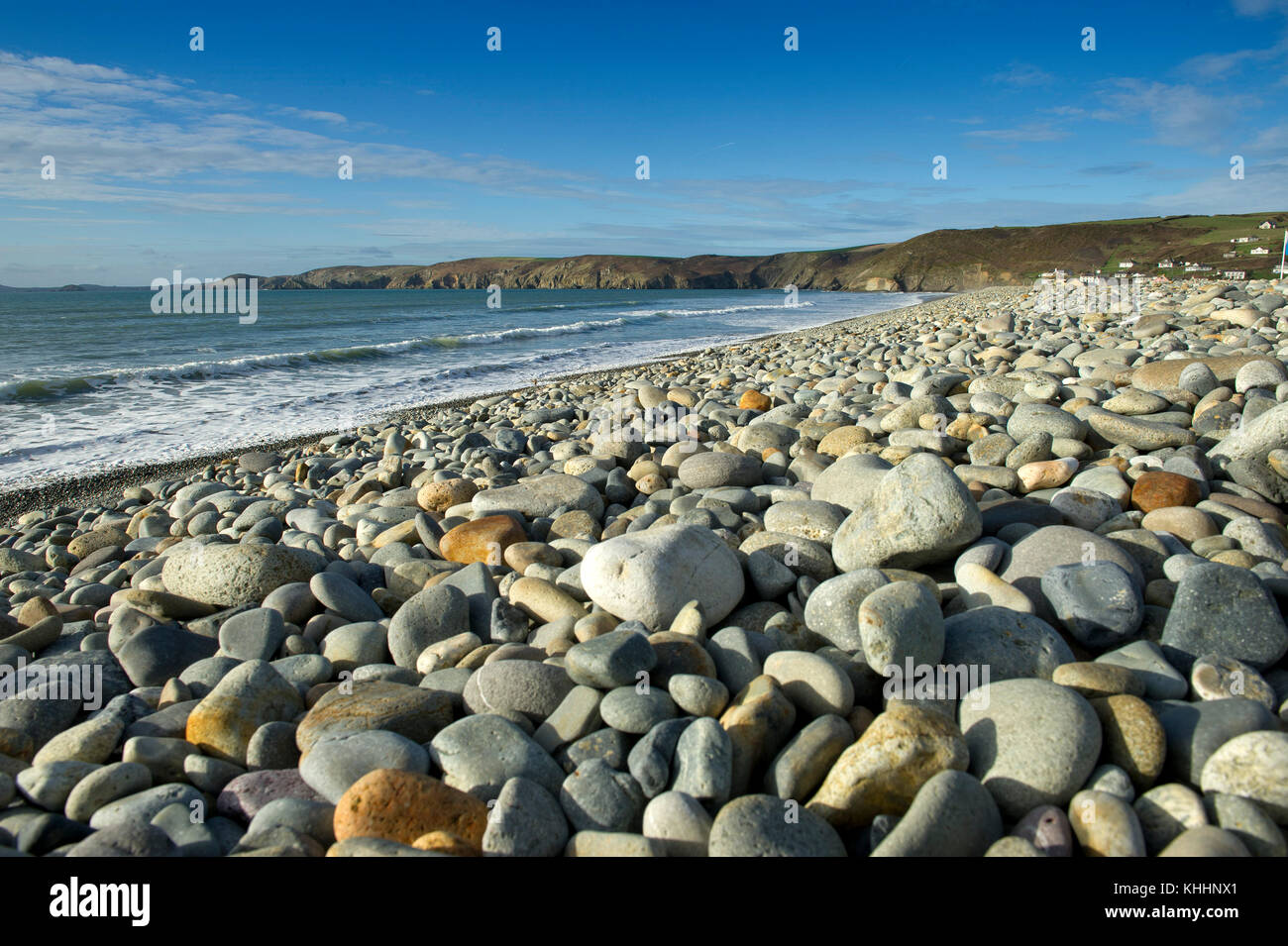 Newgale beach, West Wales, Pembrokeshire, United Kingdom Stock Photo