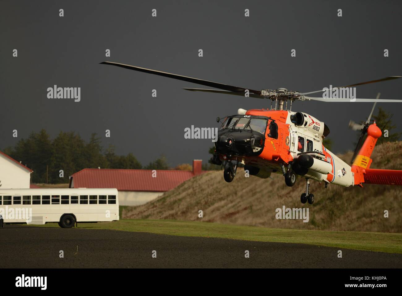 Coast Guard MH-60 Jayhawk helicopter - Stock Image