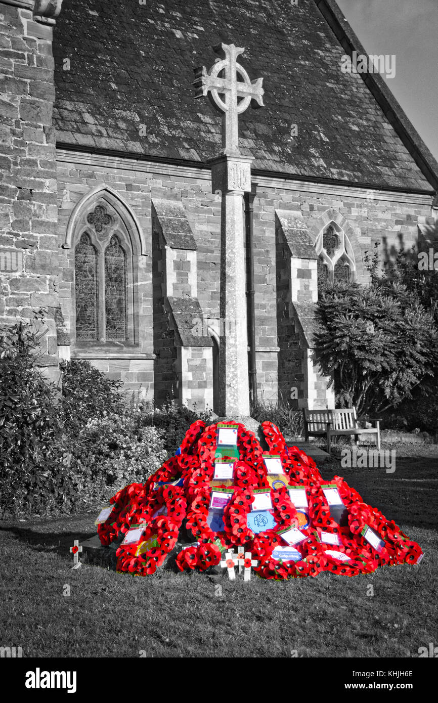 Remembrance Sunday - Stock Image