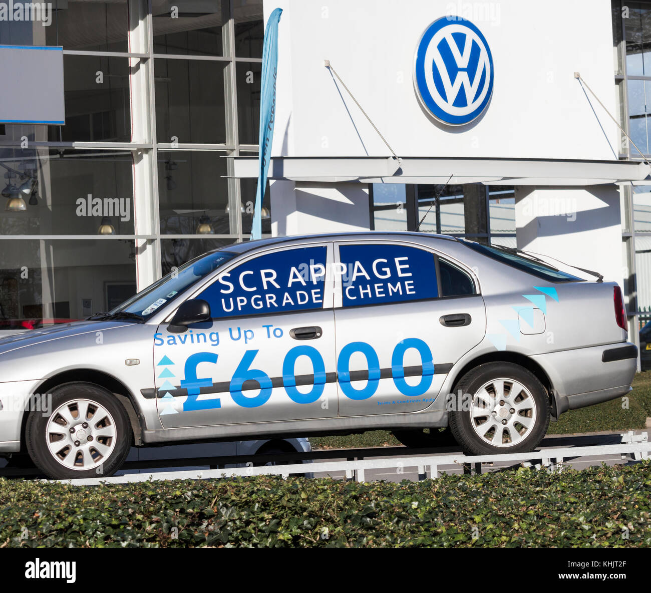 Volkswagen Dealership: New Cars Uk Stock Photos & New Cars Uk Stock Images