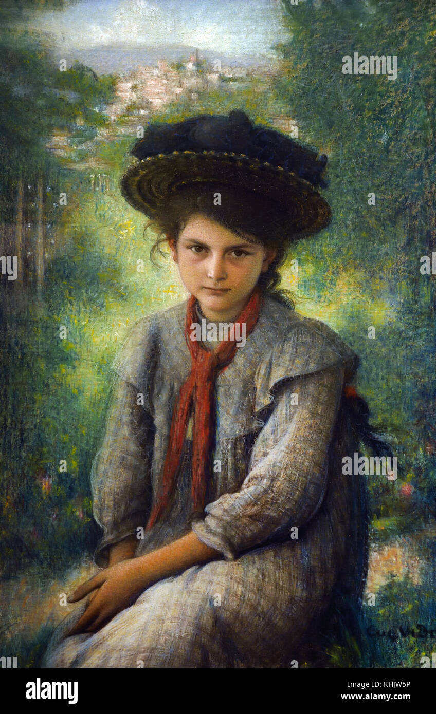 Ernestine 1904 Eugene Vidal 1850-1907 French, France. - Stock Image