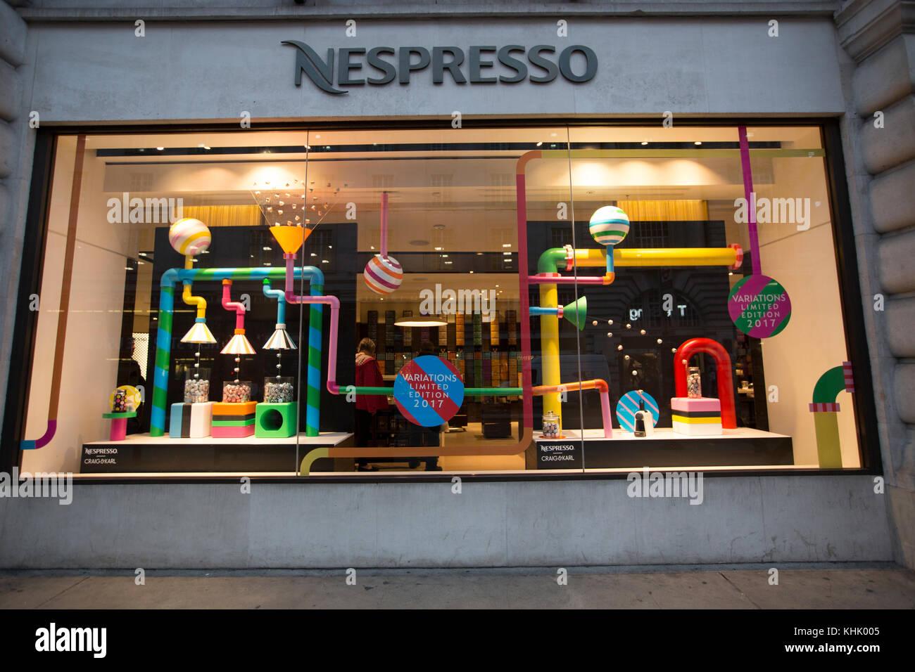 Nespresso Shop Stock Photos Nespresso Shop Stock Images Alamy