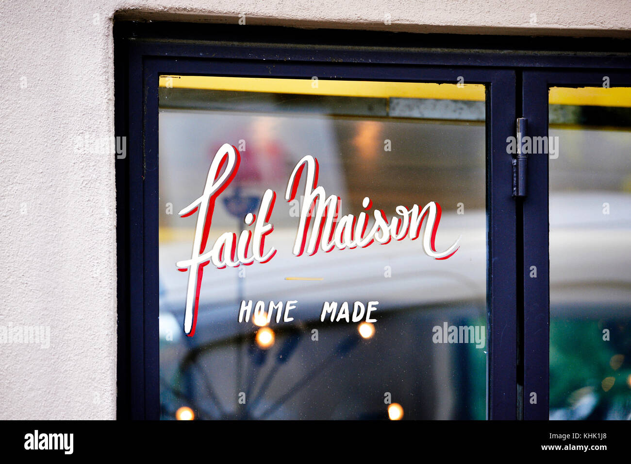 Paris Menu Letters High Resolution Stock Photography And Images Alamy