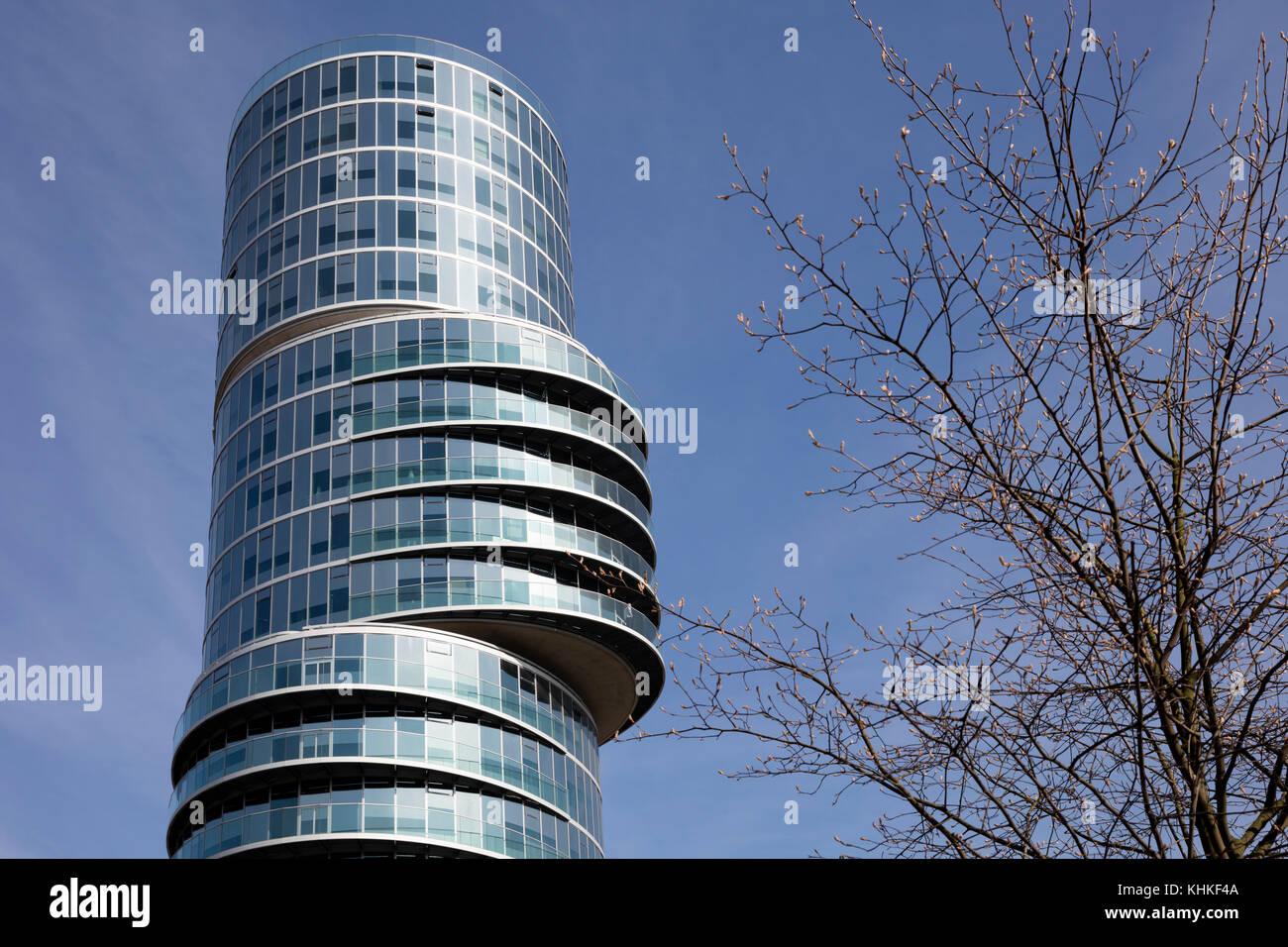 Exzenterhaus, Bochum, Ruhr area, North Rhine-Westphalia, Germany, Europe - Stock Image