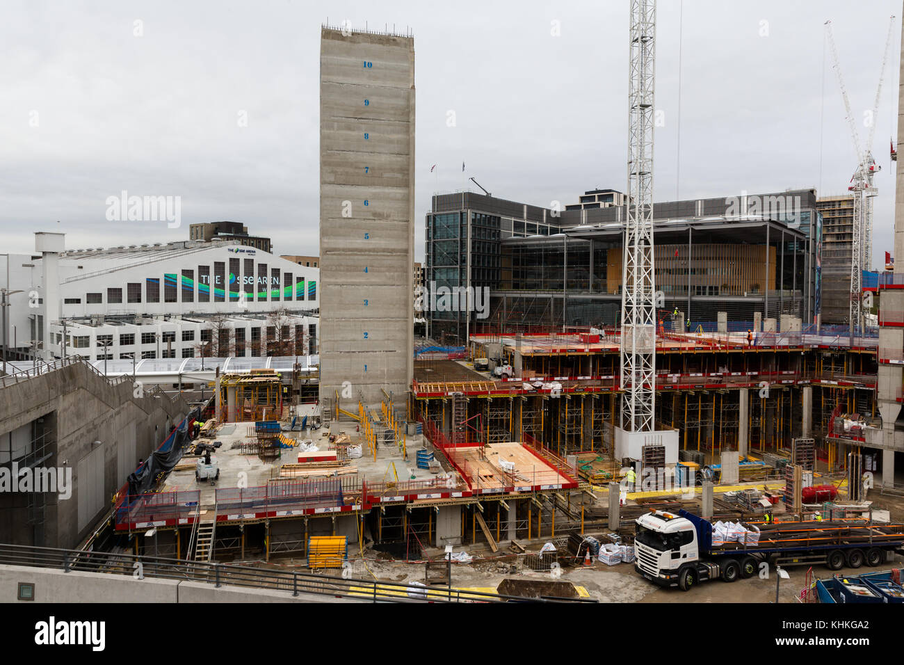 Wembley Park - Quintain £140 million development scheme transforms the area around Wembley Stadium - Stock Image