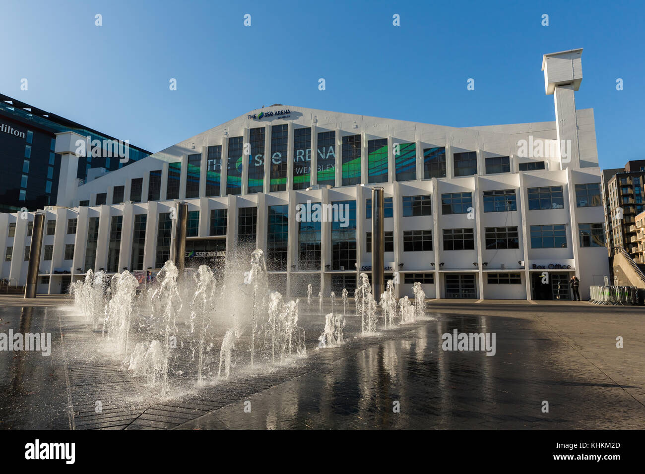 SSE Arena (formerly known as Wembley Arena) Wembley Park, Brent, Middx, UK - Stock Image