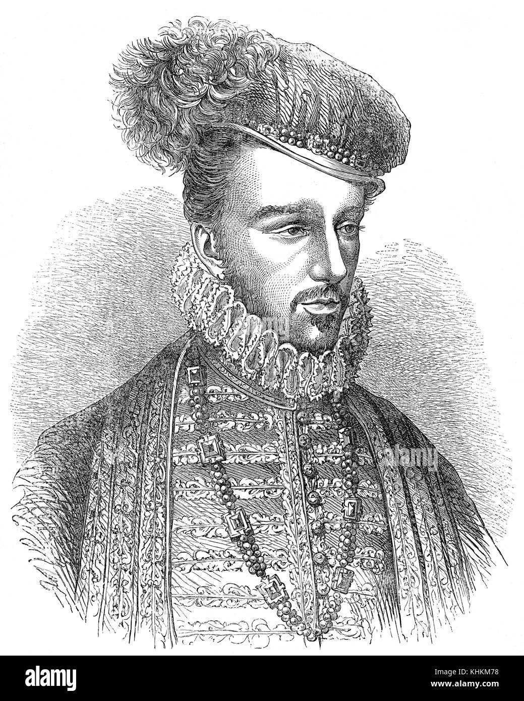 Alfonso d'Este, 1476 – 1534, Duke of Ferrara - Stock Image