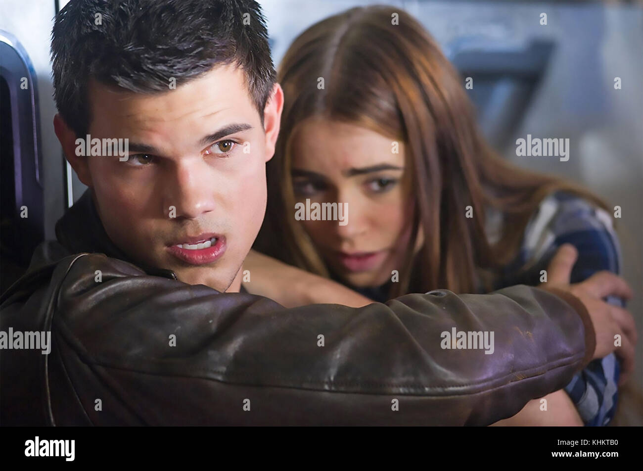 ABDUCTION 2011 Lionsgate film with Lily Collins and Taylor Lautner - Stock Image