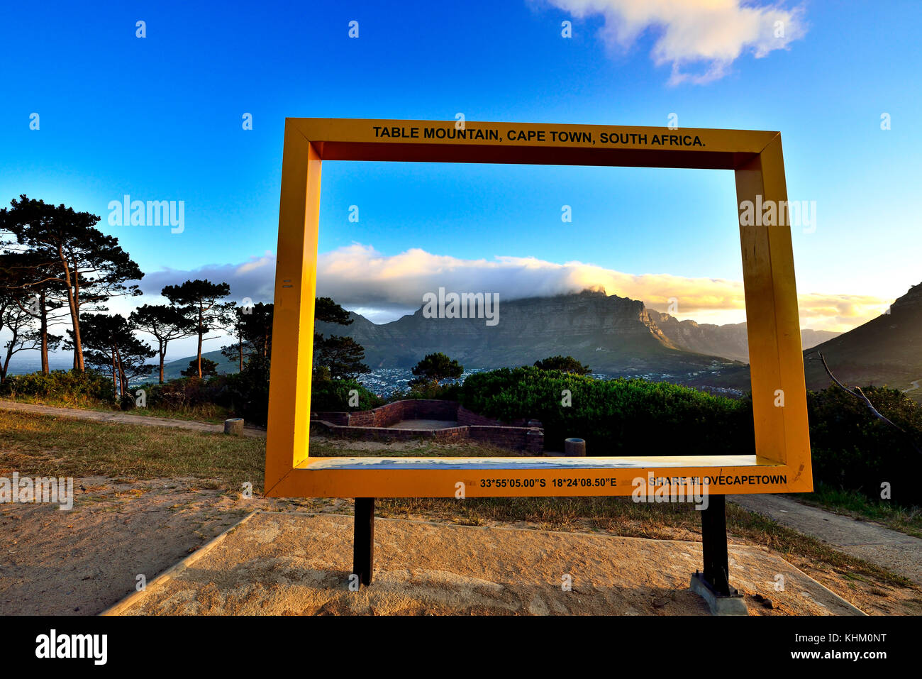 Table Mountain Frame Stock Photos & Table Mountain Frame Stock ...