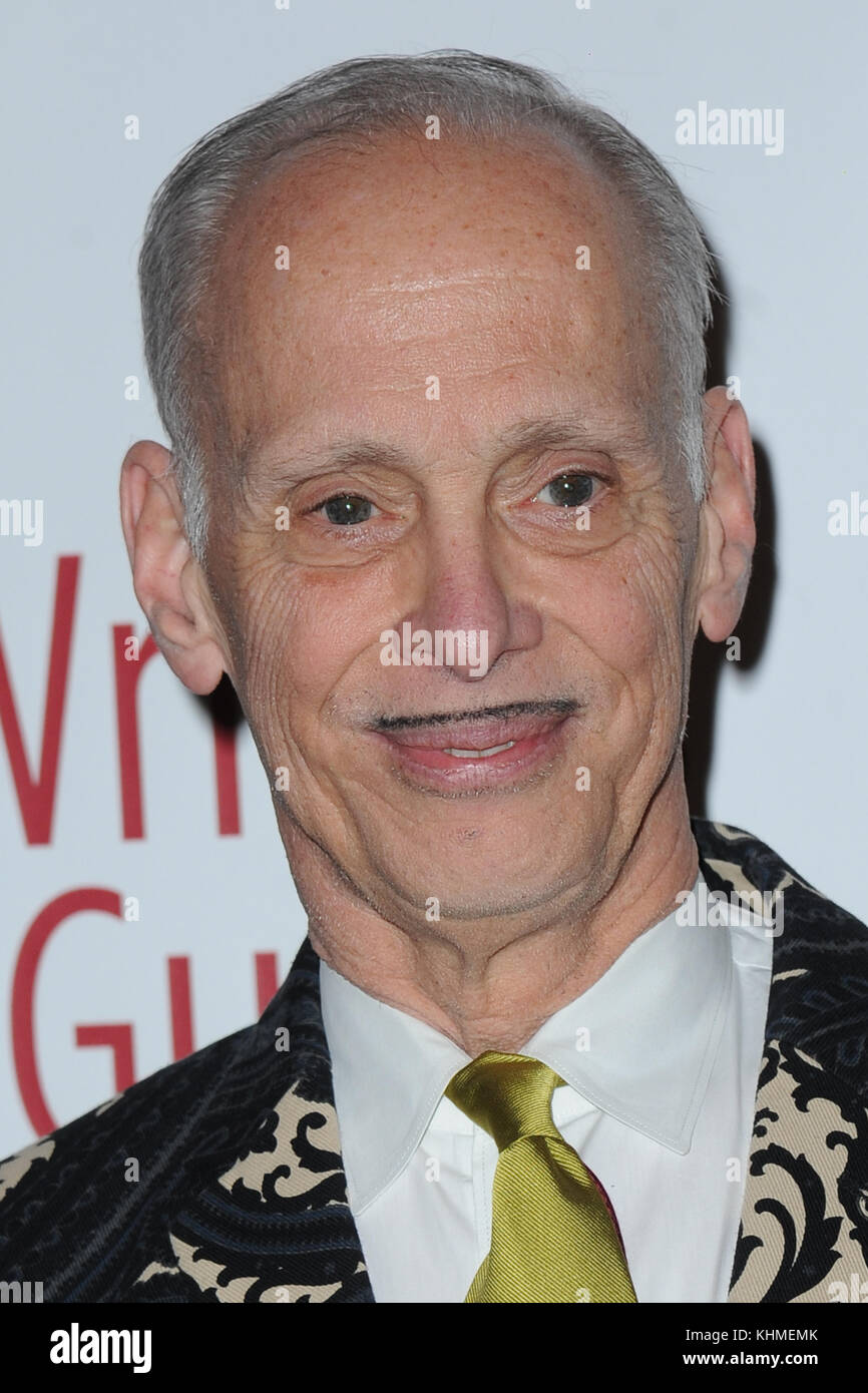 NEW YORK, NY - FEBRUARY 19: John Waters  attends the 69th Annual Writers Guild Awards New York ceremony at Edison - Stock Image