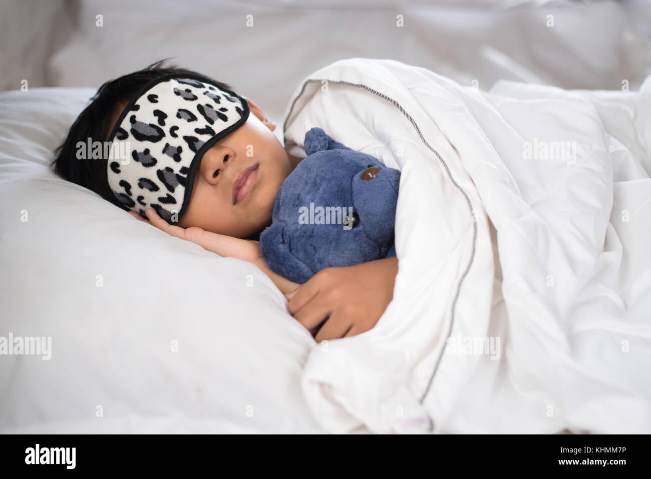 White Baby Sleep Pillow