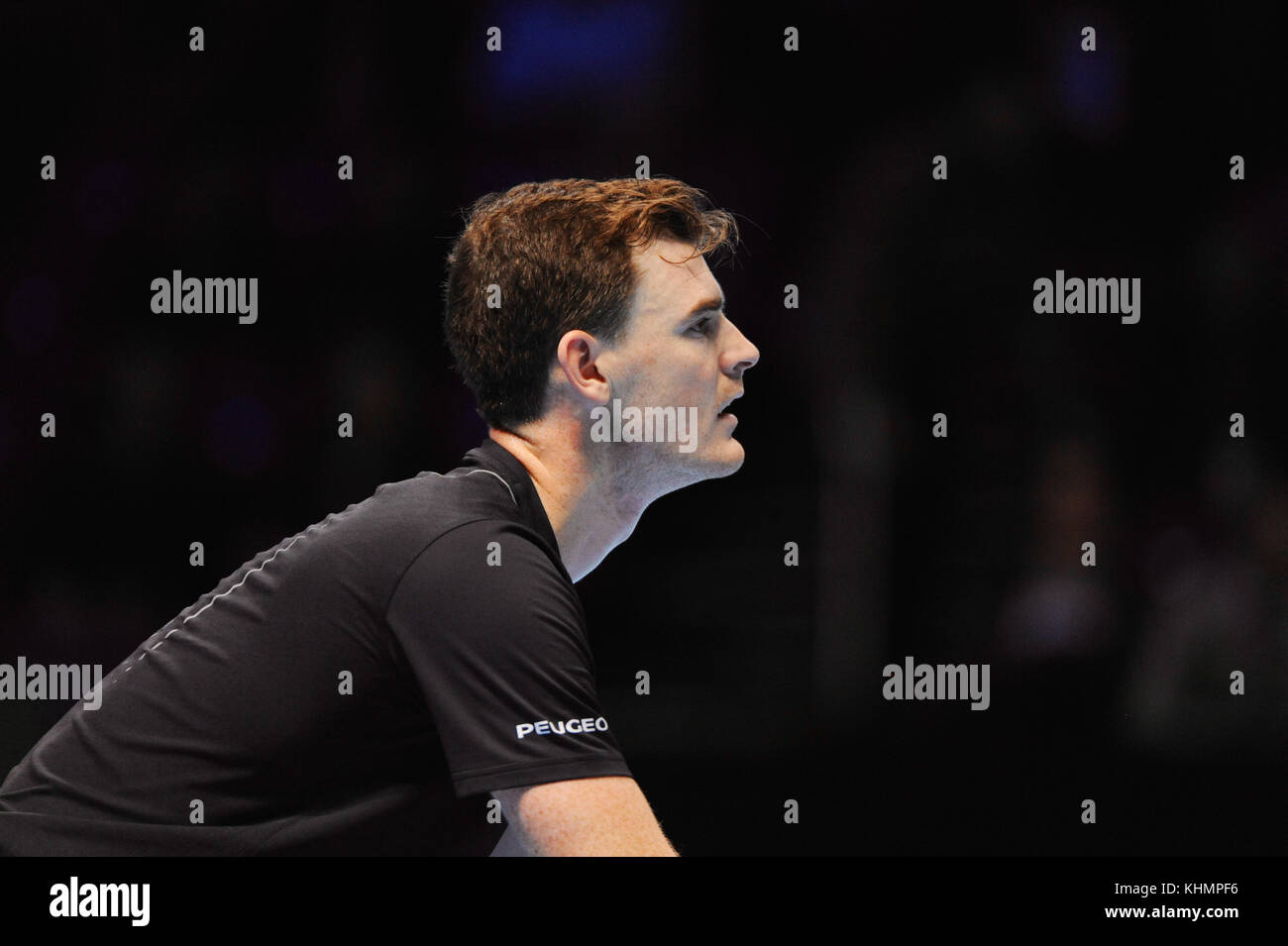 London, UK. 17th Nov, 2017. Jamie Murray (GBR) competing in the doubles competition in the Nitto ATP Finals at The Stock Photo