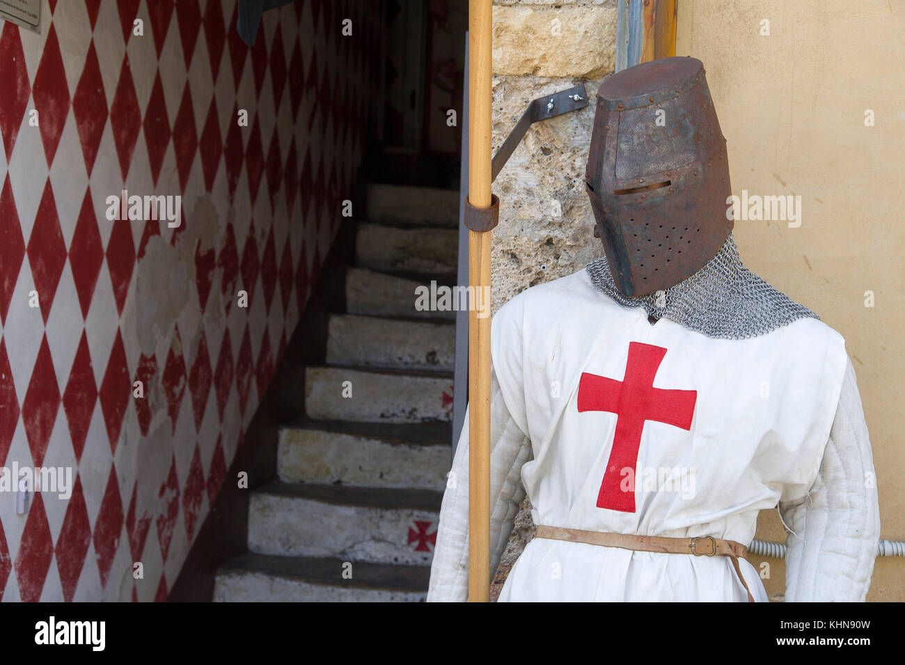 Museum of the history of the Knights Templars on Piazza Roma