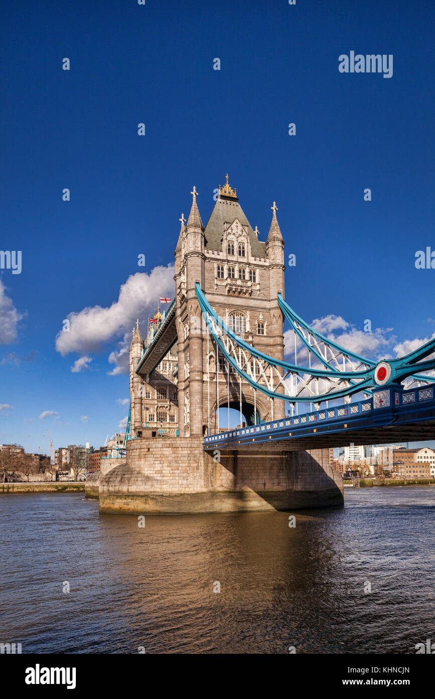 Tower Bridge, London. - Stock Image