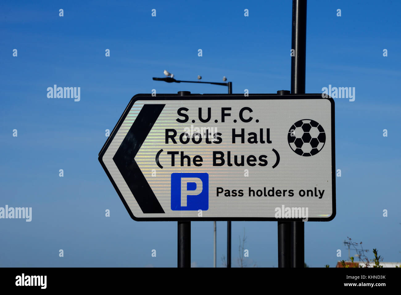 Southend Utd fc Roots Hall Metal Street Sign 2 Sizes Available football