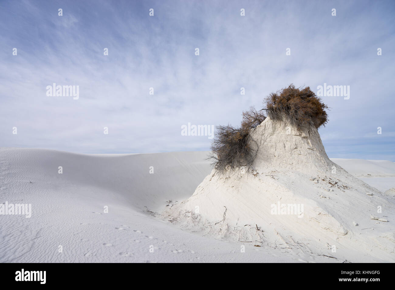 WHite sands New Mexico USA - Stock Image
