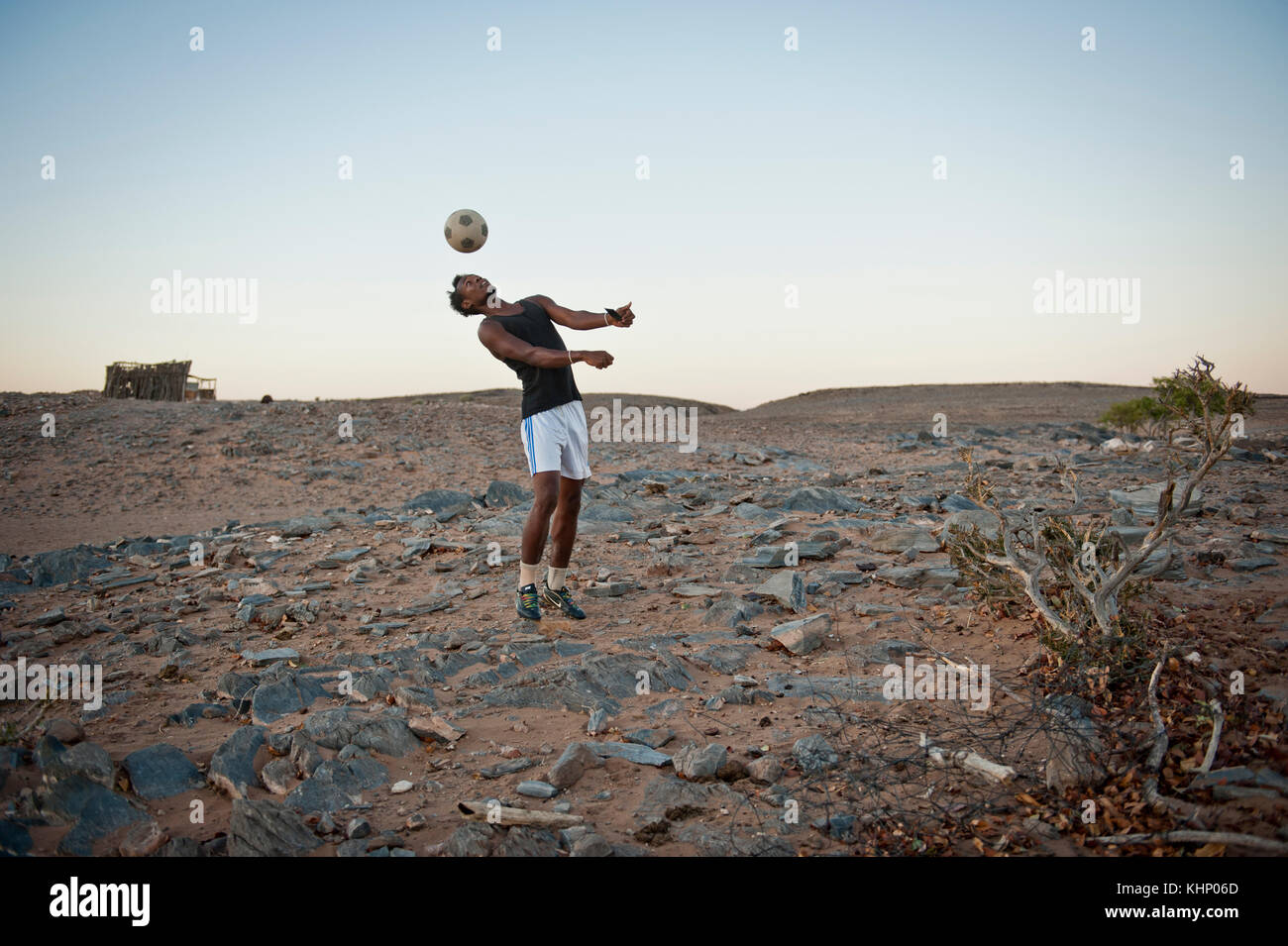 Damaraland, Namibie. Mars 2013. Stock Photo