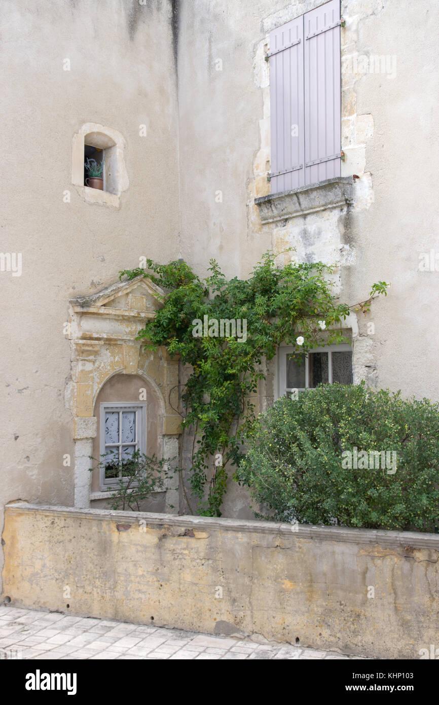 Ars-en-Ré, a quiet corner - Stock Image