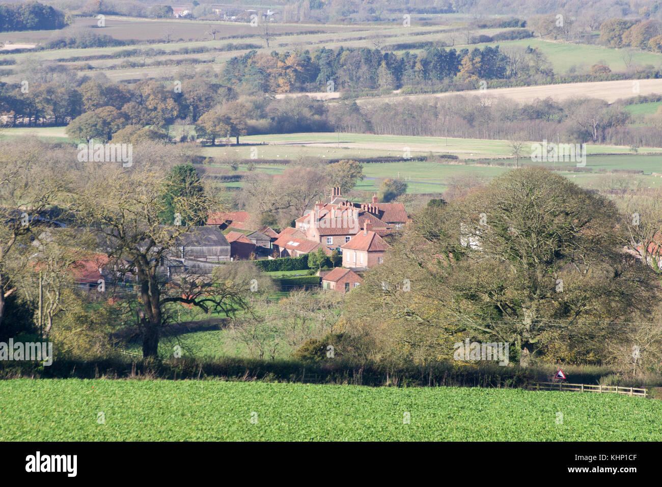 Kirby Underdale Village - Stock Image