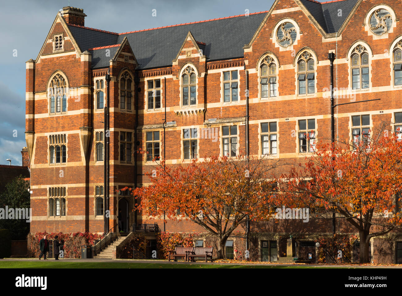 The North House of The Leys school, one of England's premier independent schools. Cambridge, England, UK. - Stock Image