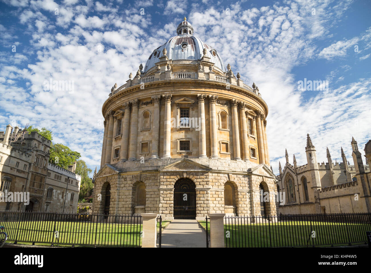 UK, Oxford, Radcliffe Camera, 18th century, Palladian style academic library and reading rooms, designed by James - Stock Image