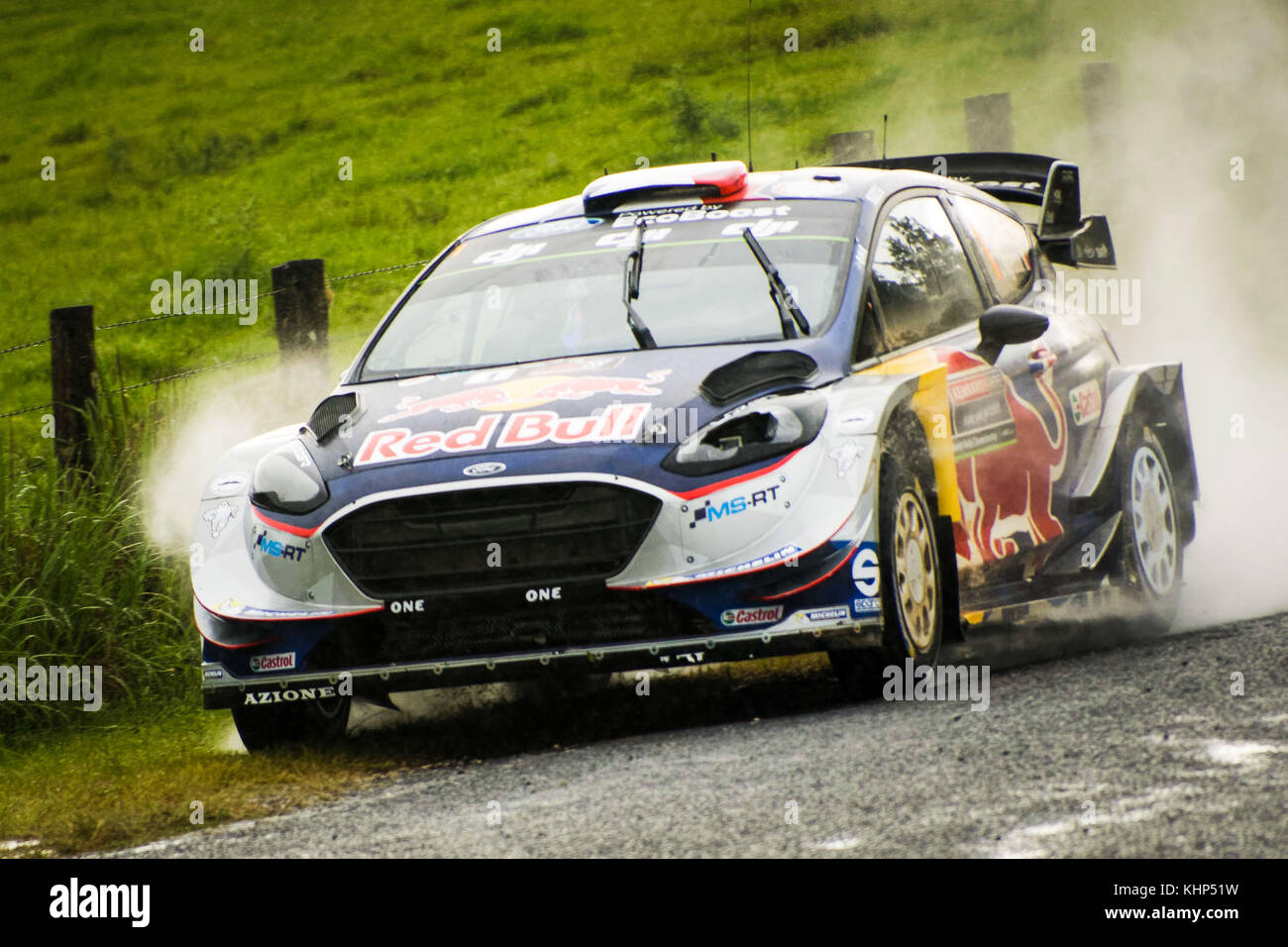 Australia. 17th Nov, 2017. Five time WRC Champion Sébastien Ogier ...