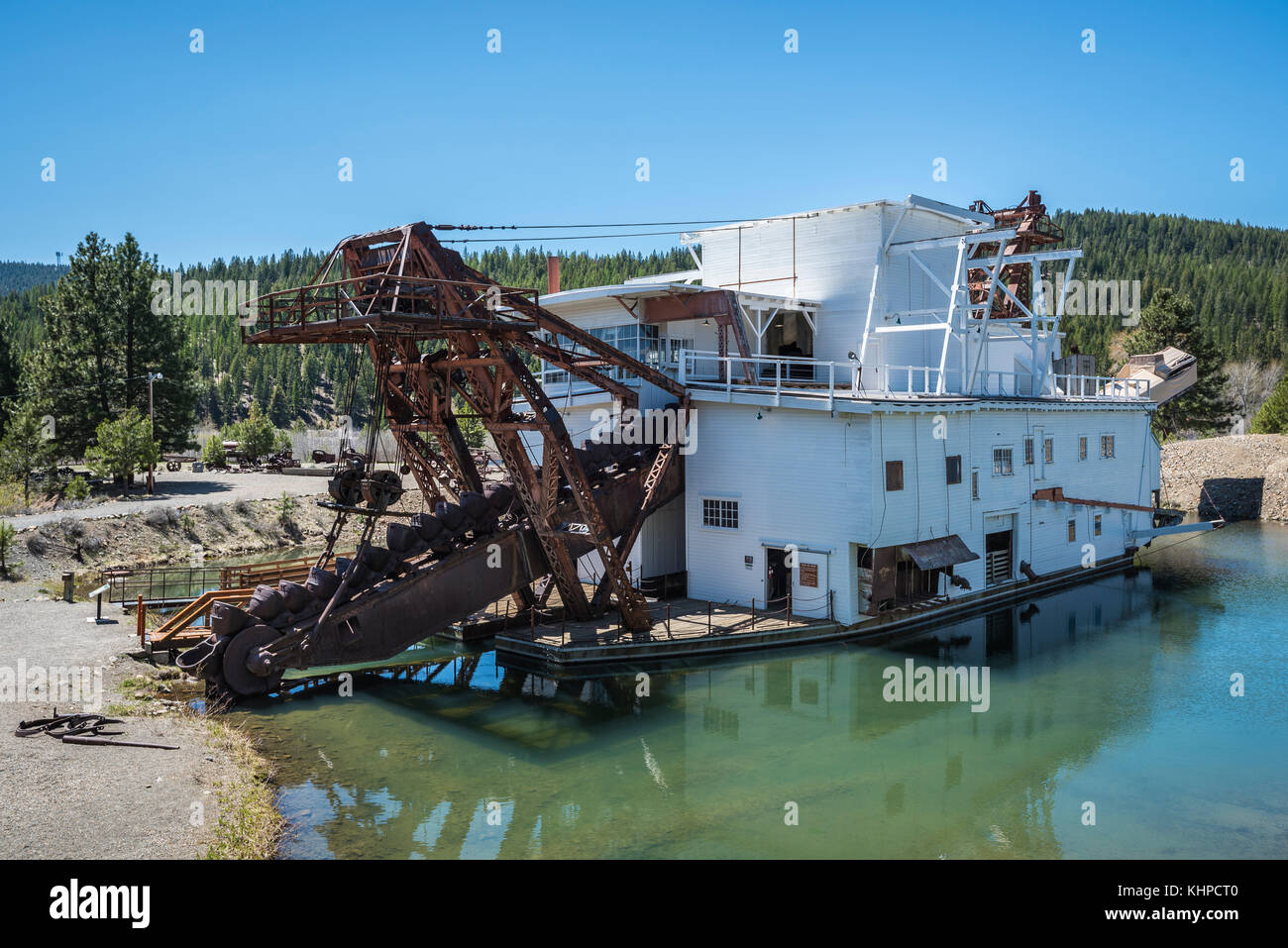American Ghost Towns Mining Stock Photos & American Ghost