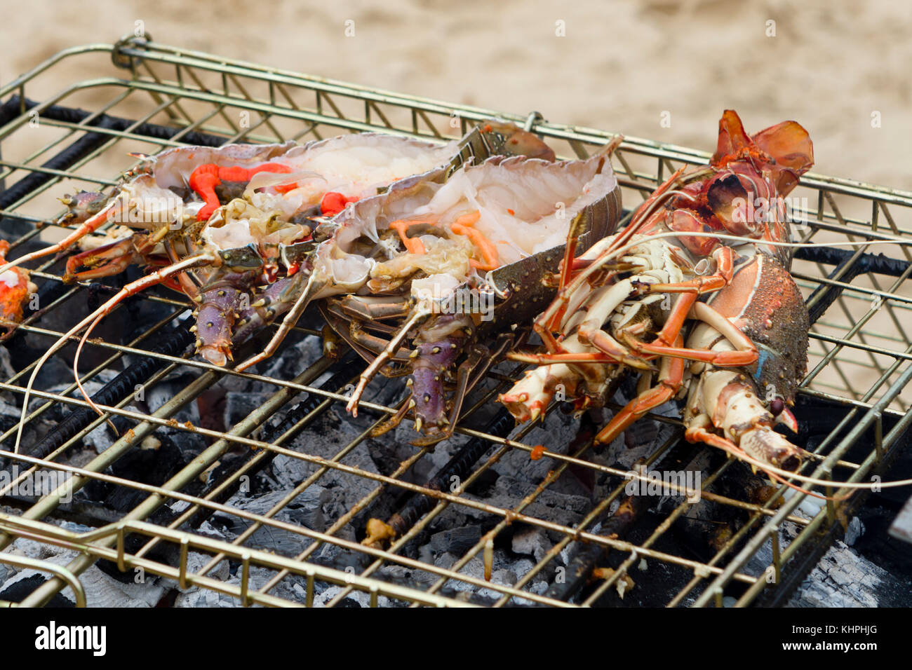 Lobsters - Stock Image