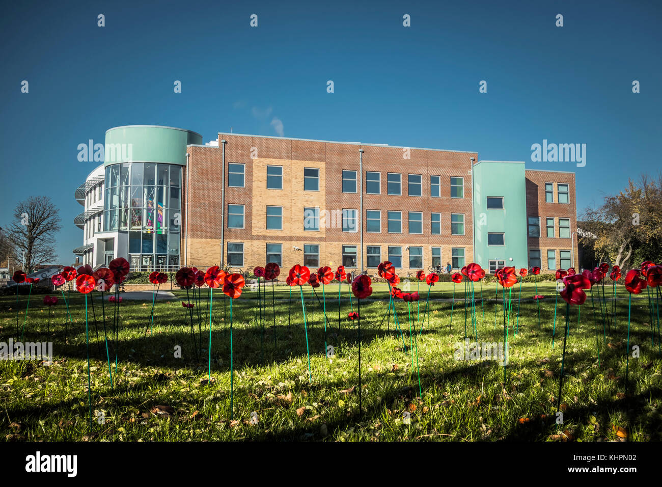 Acton High School - a co-educational secondary school in the Acton area of the London Borough of Ealing, UK. - Stock Image
