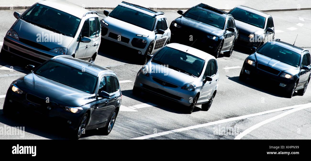 Straßenverkehr - Stock Image