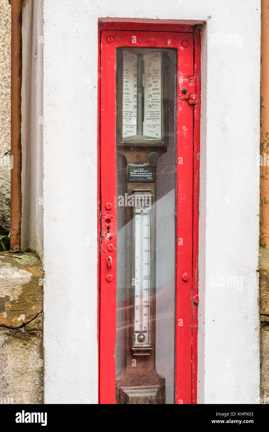 Fitzroy Fisheries Barometer, Stromness, Mainland Orkney, Scotland, UK - Stock Image