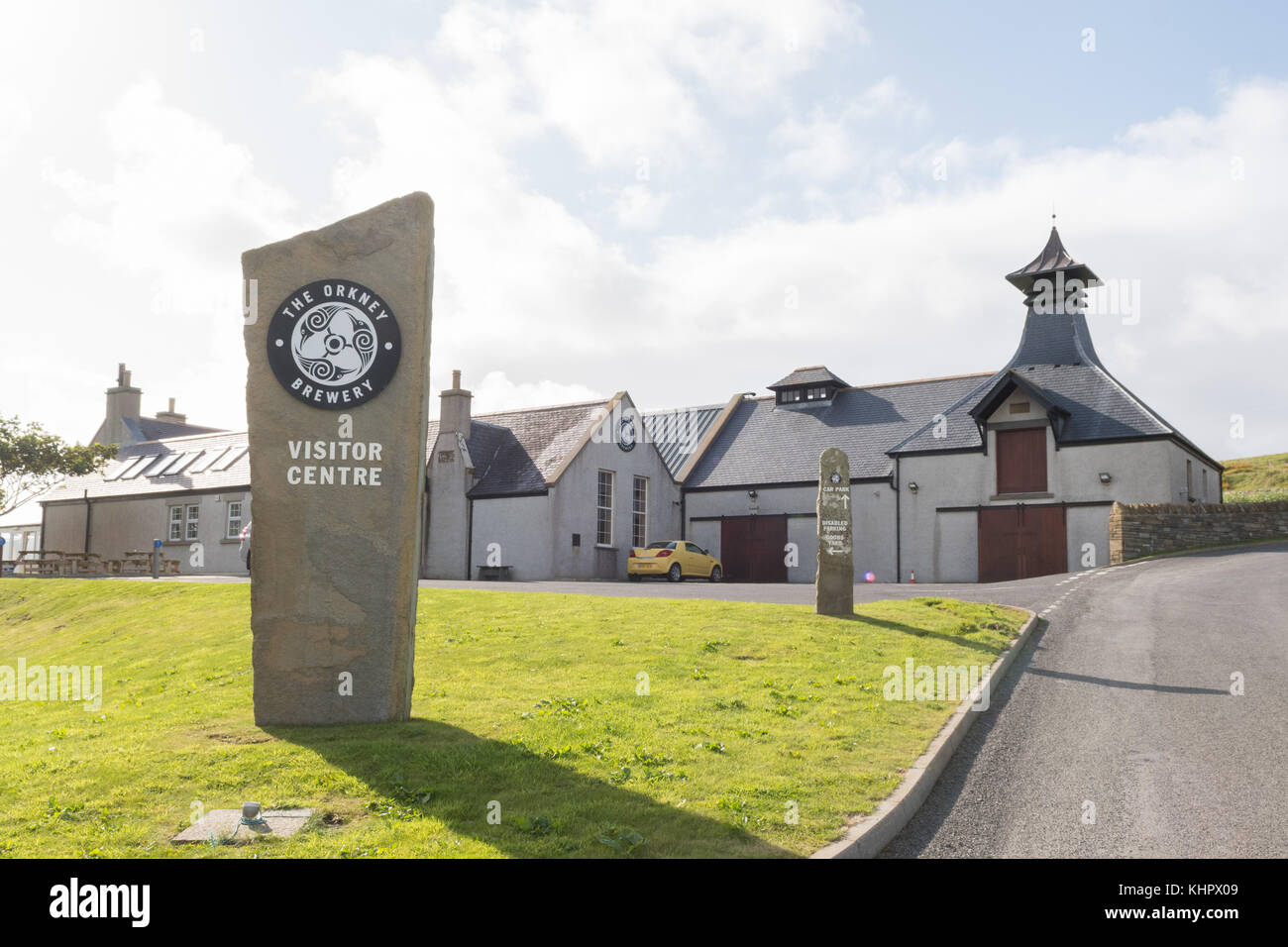 Orkney Brewery Visitor Centre, Quoyloo, Orkney, Scotland, UK - Stock Image