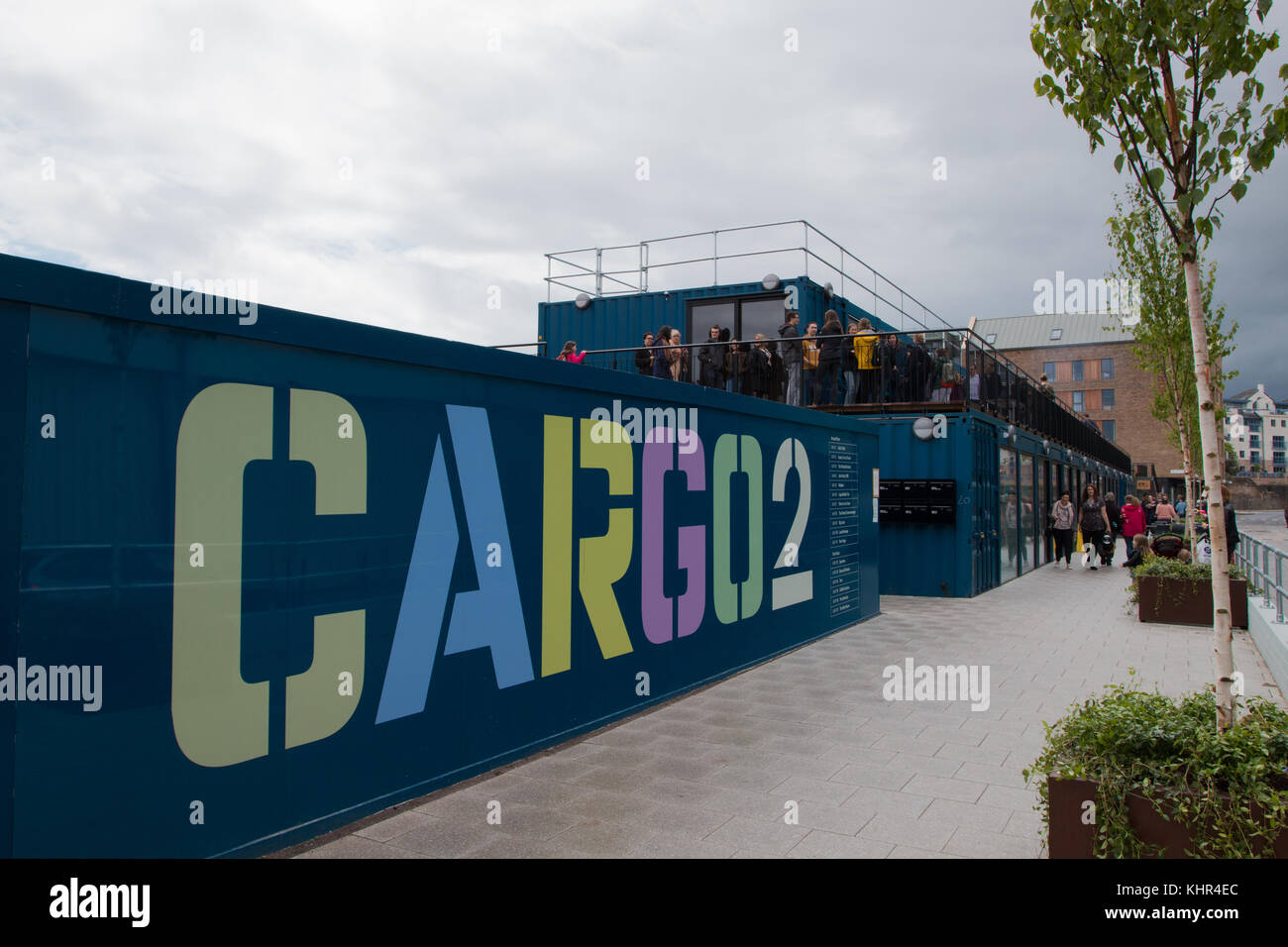 CARGO2: Container shops in Bristol - Stock Image