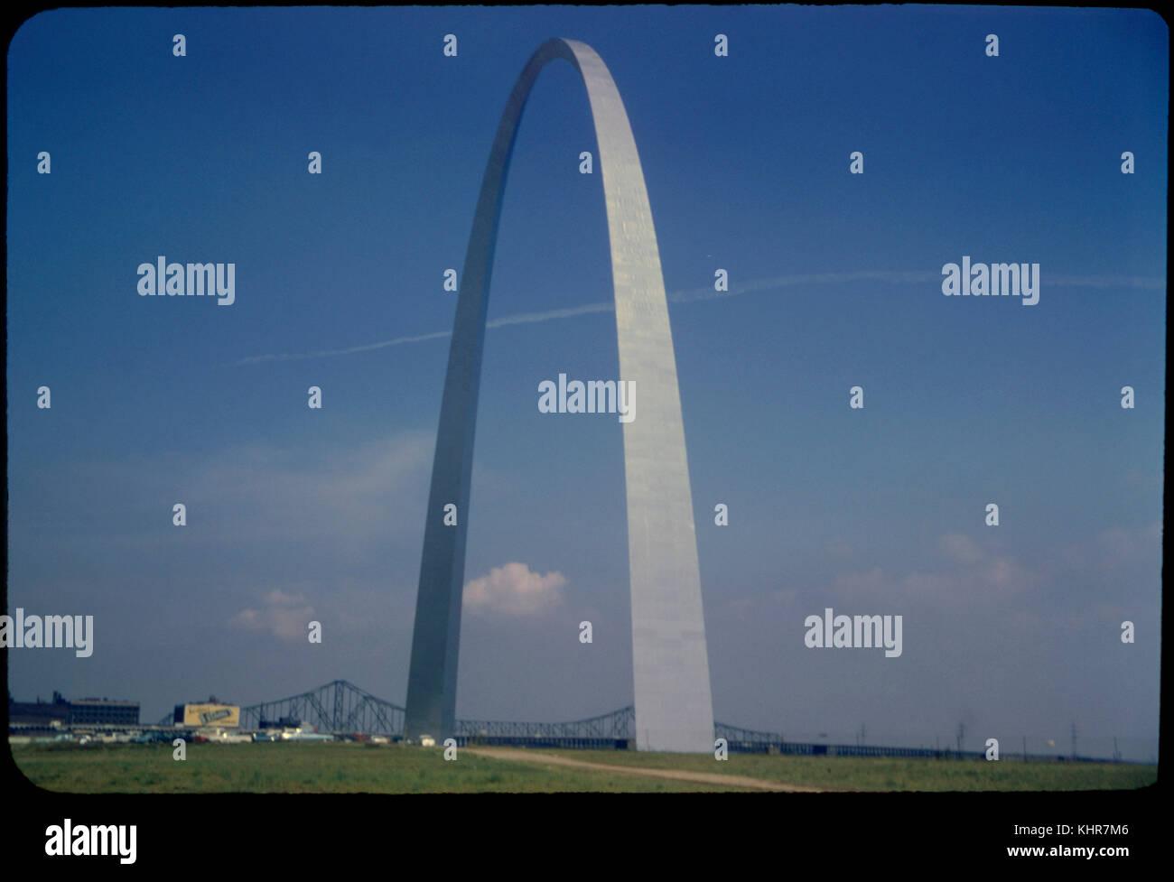 Arch, Saint Louis, Missouri, USA, 1967 - Stock Image