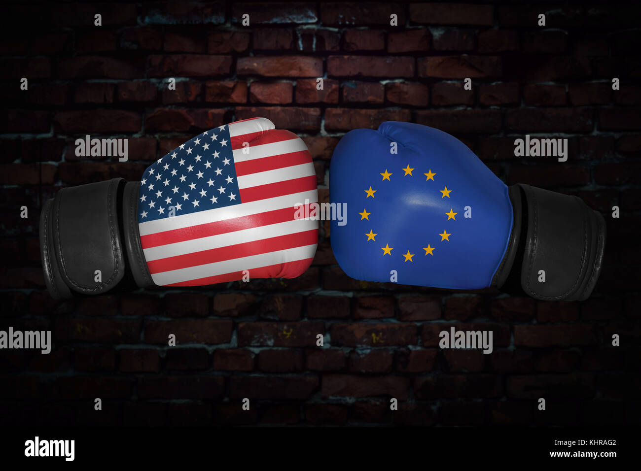 5ae5a8ddfed match. Confrontation between the USA and European Union. American