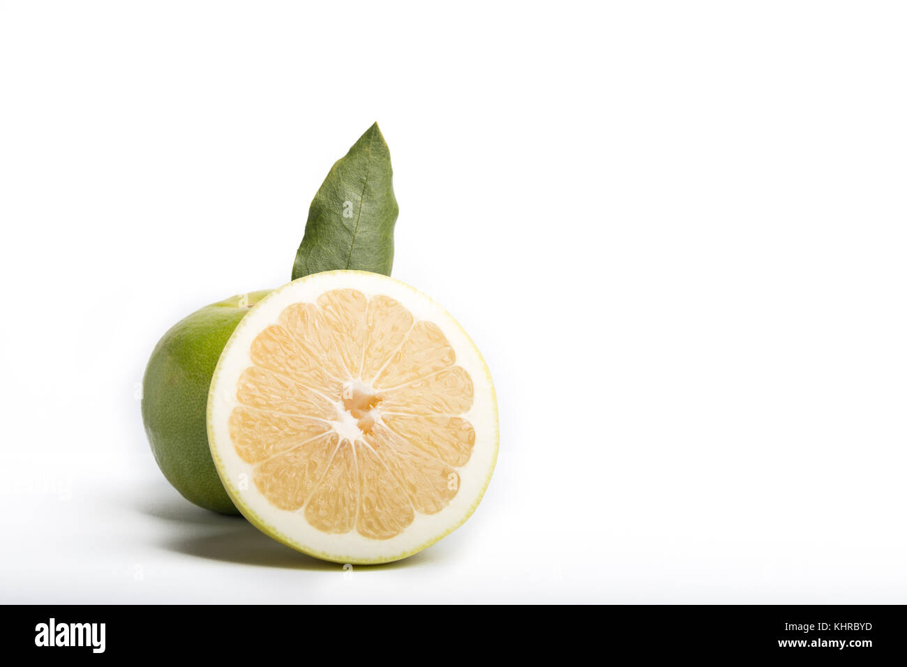 sweetie grapefruit isolated on a white background - Stock Image