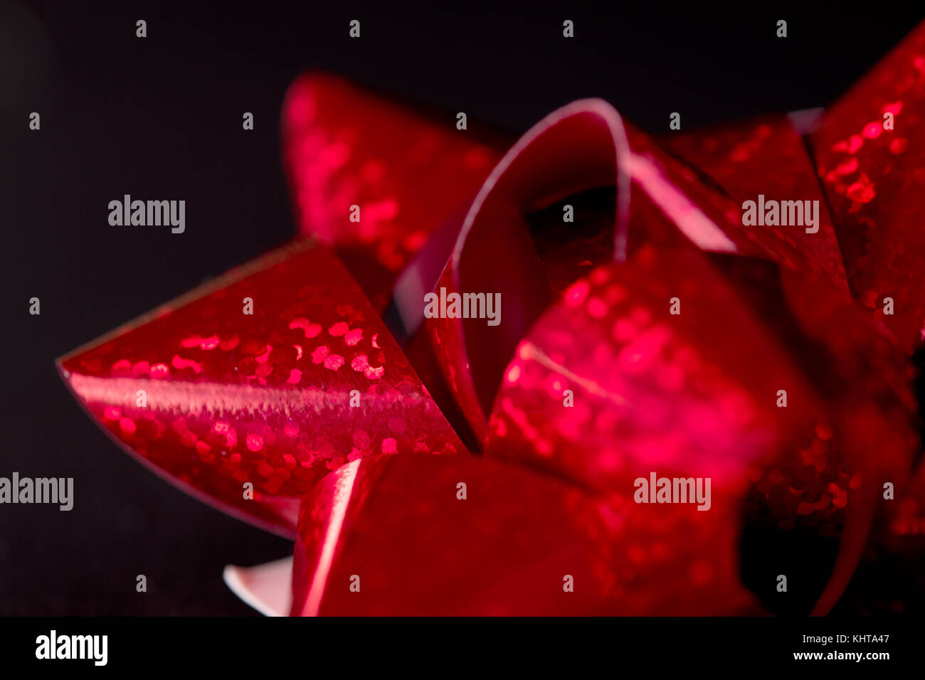 Glowing bows - Stock Image