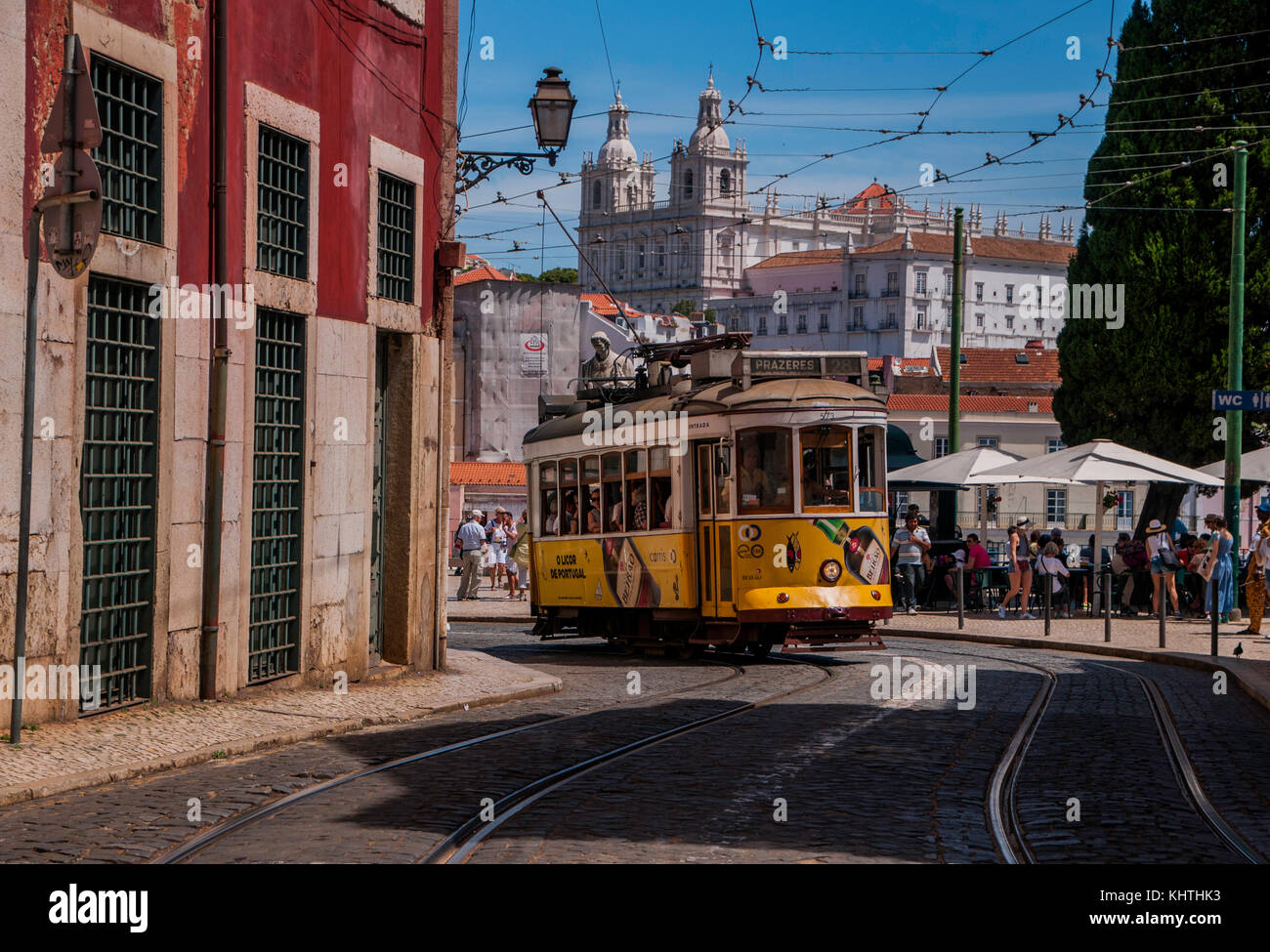 Lisbon Portugal I believe is the best place to travel as travel photographer and street photographer artist  wounder - Stock Image