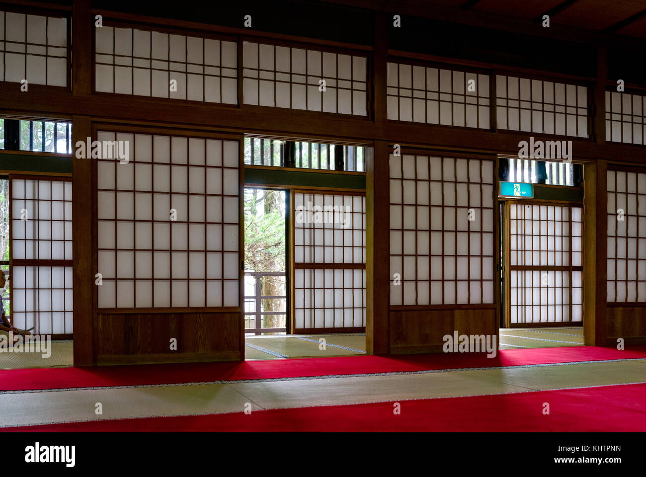Traditional Japanese House with Paper doors and Tatami & Traditional Japanese House with Paper doors and Tatami Stock Photo ...