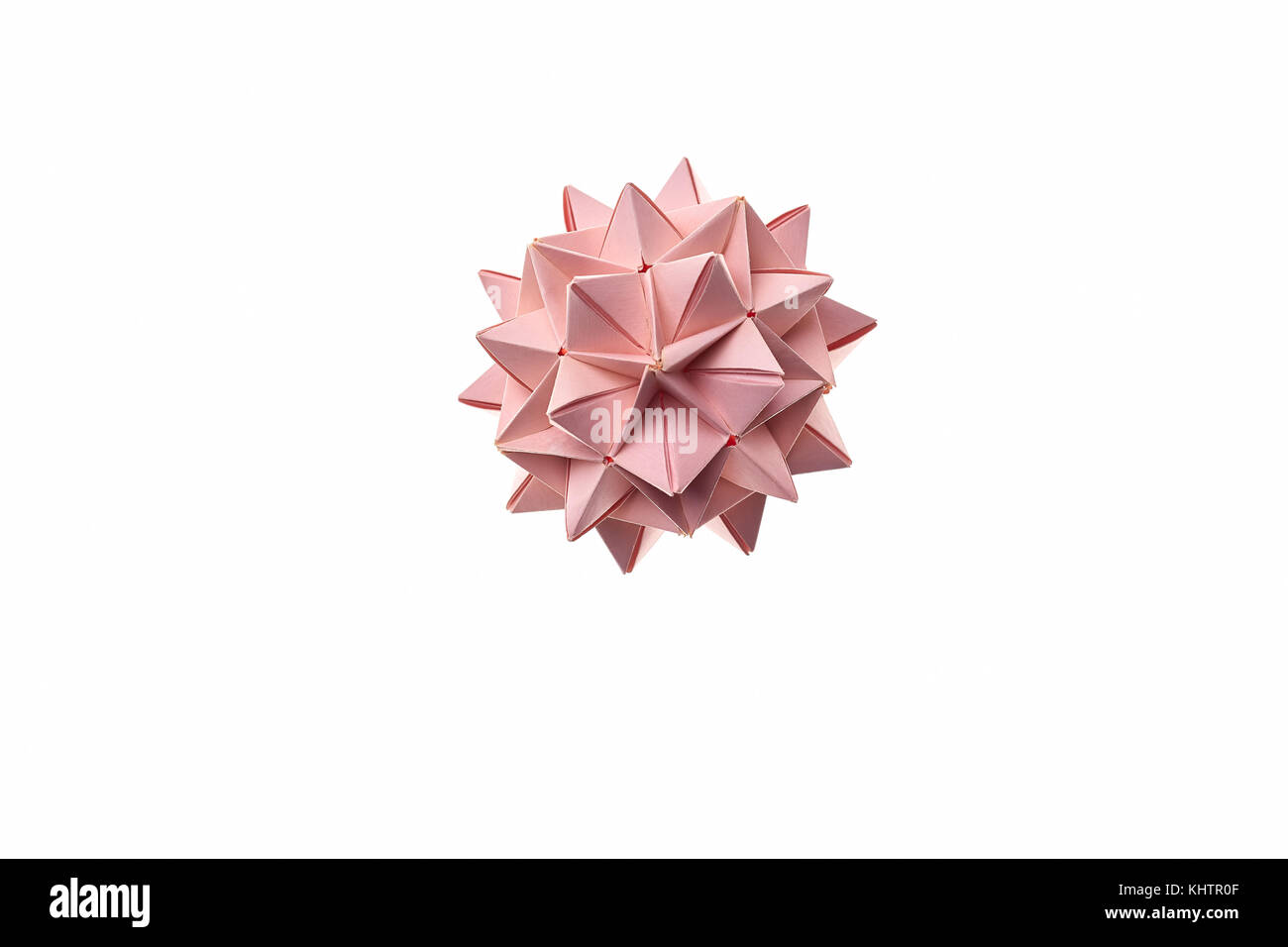 Spiky ball origami figure. — Stock Video © Denisfilm #193955176 | 956x1300