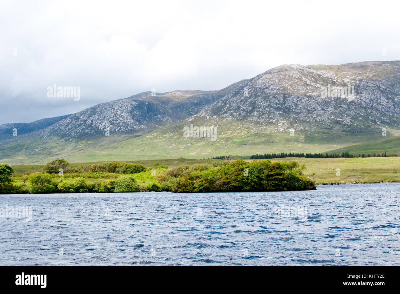 Connemara National Park, co Galway, Ireland - Stock Image