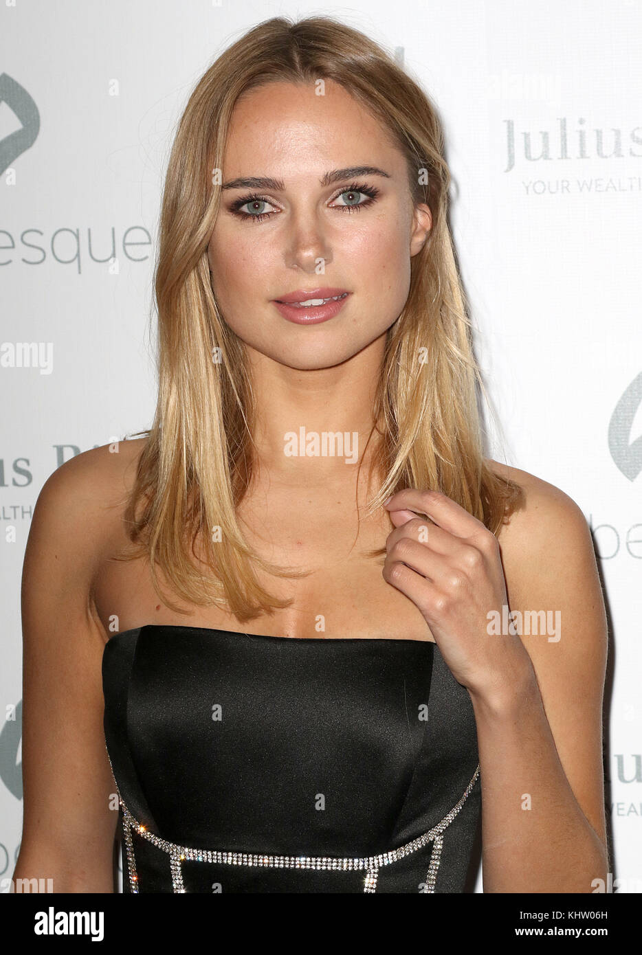 Nov 17, 2017 - Kimberley Garner attending Chain Of Hope Gala Ball 2007, Grosvenor House in London, England, UK - Stock Image