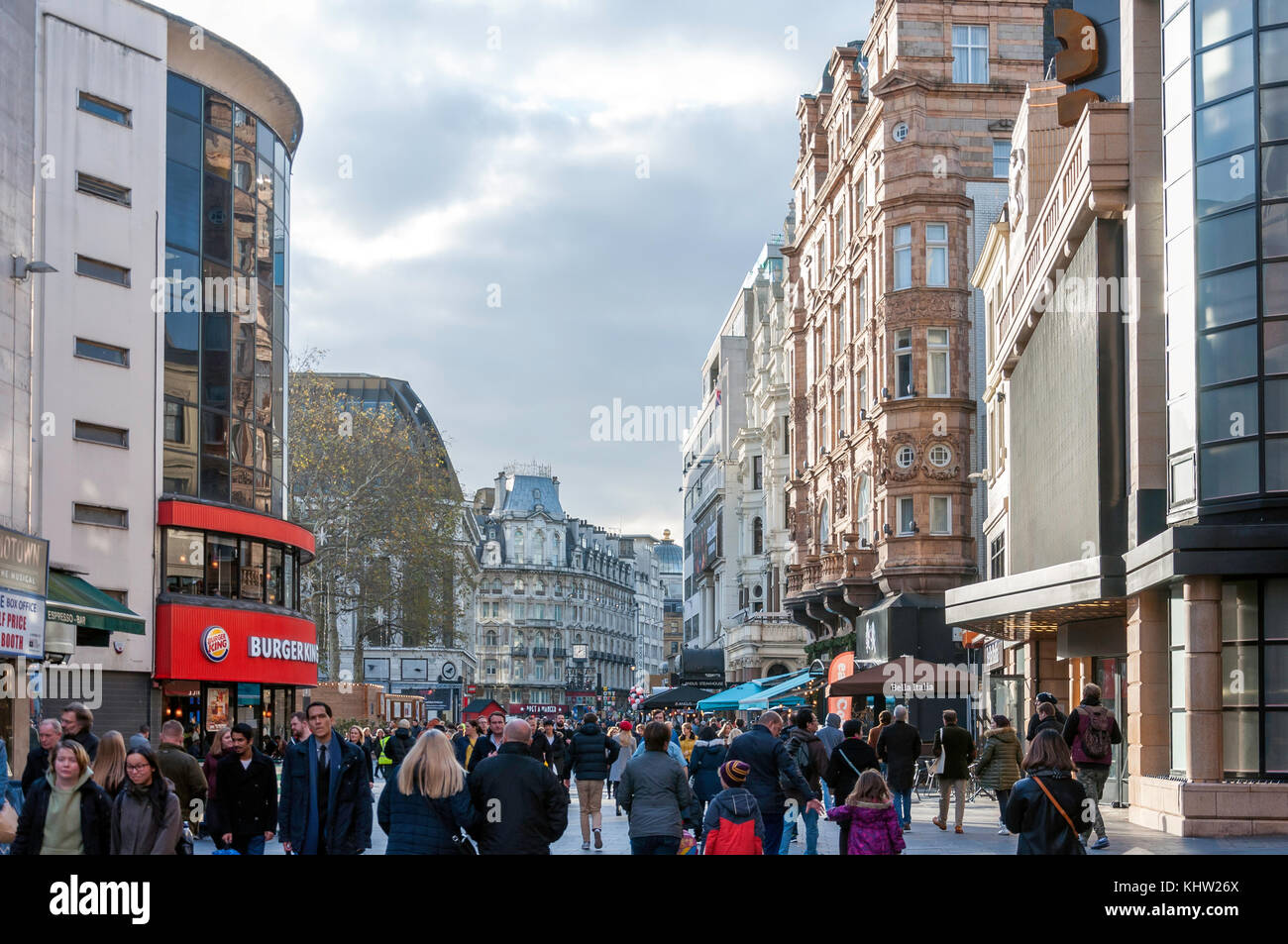 Cranbourn Street, Leicester Square, West End, City of Westminster, Greater London, England, United Kingdom Stock Photo